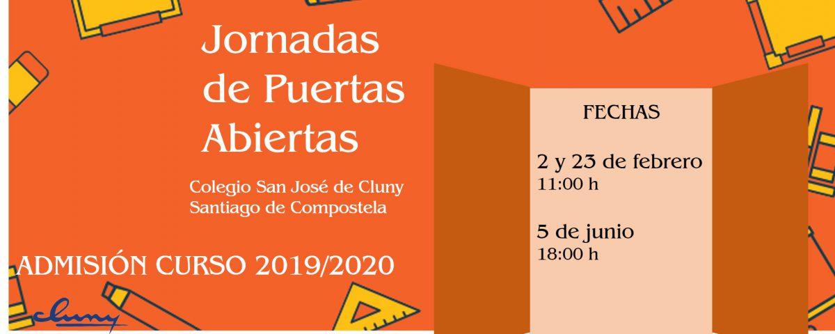 Admisión Cluny Santiago Curso 19_20
